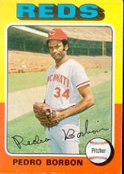 1975 Topps #157 Pedro Borbon