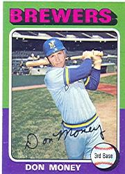 1975 Topps #175 Don Money