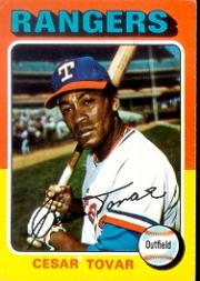 1975 Topps #178 Cesar Tovar