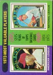 1975 Topps #210 Rich Allen/Johnny Bench MVP