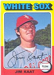 1975 Topps #243 Jim Kaat