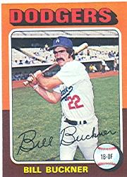 1975 Topps #244 Bill Buckner
