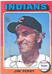 1975 Topps #263 Jim Perry