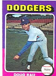 1975 Topps #269 Doug Rau