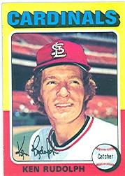 1975 Topps #289 Ken Rudolph