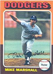 1975 Topps #330 Mike Marshall