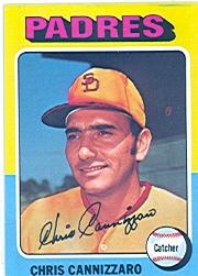 1975 Topps #355 Chris Cannizzaro