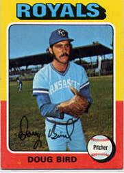 1975 Topps #364 Doug Bird