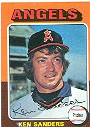 1975 Topps #366 Ken Sanders