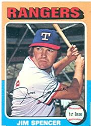1975 Topps #387 Jim Spencer