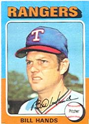 1975 Topps #412 Bill Hands