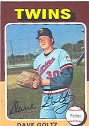 1975 Topps #419 Dave Goltz