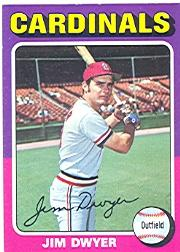 1975 Topps #429 Jim Dwyer RC