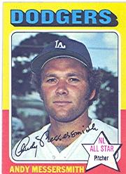 1975 Topps #440 Andy Messersmith
