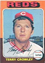 1975 Topps #447 Terry Crowley