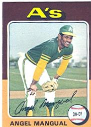 1975 Topps #452 Angel Mangual