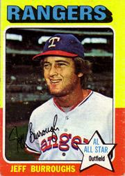 1975 Topps #470 Jeff Burroughs
