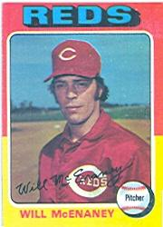 1975 Topps #481 Will McEnaney RC