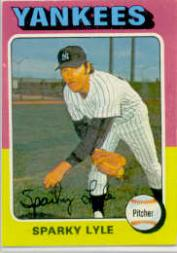 1975 Topps #485 Sparky Lyle