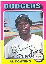 1975 Topps #498 Al Downing