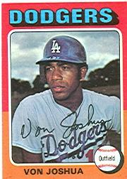 1975 Topps #547 Von Joshua