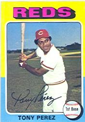 1975 Topps #560 Tony Perez front image