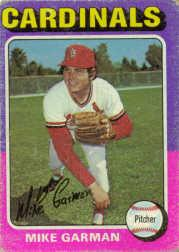 1975 Topps #584 Mike Garman