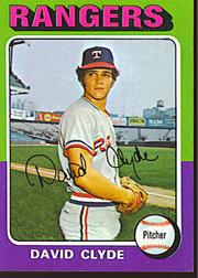1975 Topps Mini #12 David Clyde