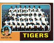 1975 Topps Mini #18 Detroit Tigers CL/Ralph Houk MG