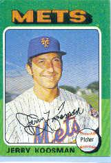 1975 Topps Mini #19 Jerry Koosman