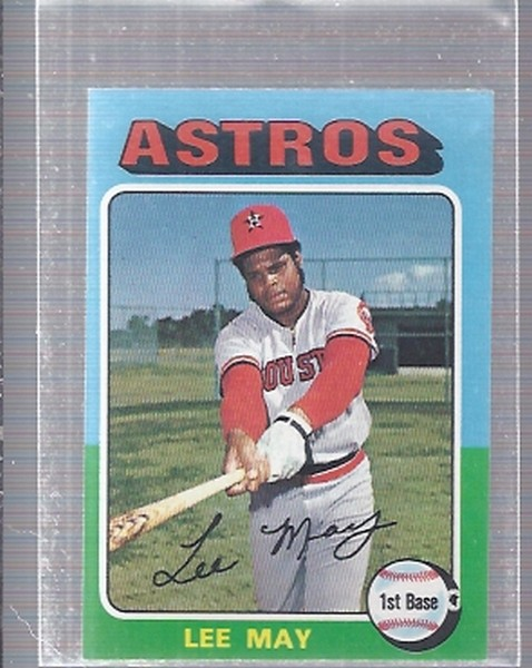 1975 Topps Mini #25 Lee May