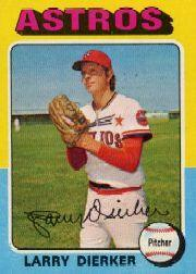1975 Topps Mini #49 Larry Dierker