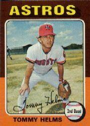 1975 Topps Mini #119 Tommy Helms