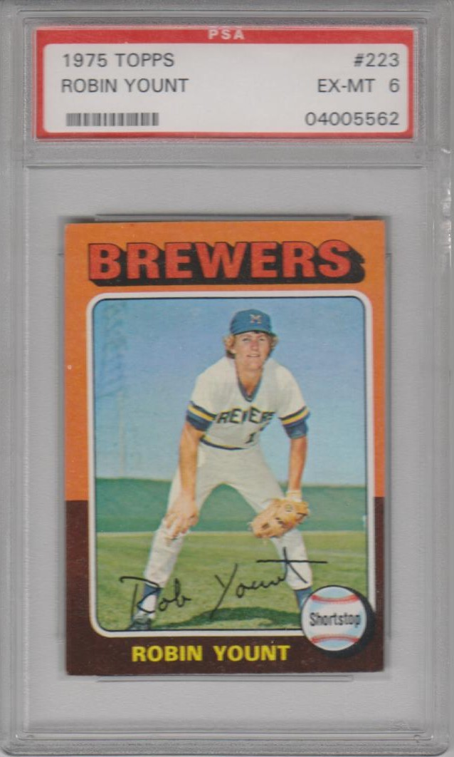 1975 Topps Mini #223 Robin Yount
