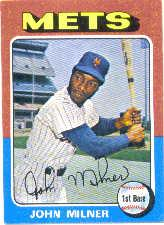 1975 Topps Mini #264 John Milner