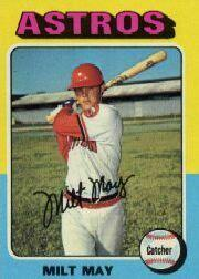 1975 Topps Mini #279 Milt May