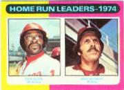 1975 Topps Mini #307 Home Run Leaders/Dick Allen/Mike Schmidt