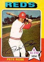 1975 Topps Mini #320 Pete Rose