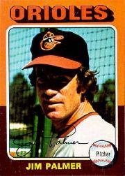 1975 Topps Mini #335 Jim Palmer