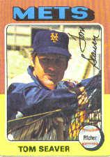 1975 Topps Mini #370 Tom Seaver