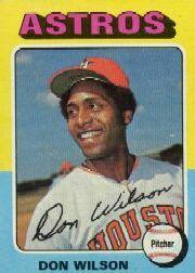 1975 Topps Mini #455 Don Wilson
