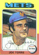 1975 Topps Mini #565 Joe Torre