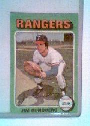 1975 Topps Mini #567 Jim Sundberg