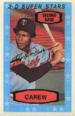 1975 Kellogg's #33 Rod Carew