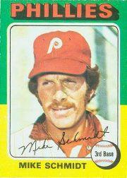 1975 O-Pee-Chee #70 Mike Schmidt