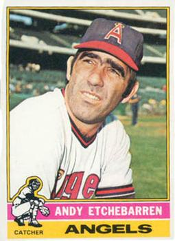 1976 Topps #129 Andy Etchebarren