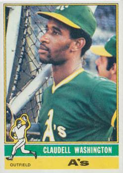 1976 Topps #189 Claudell Washington