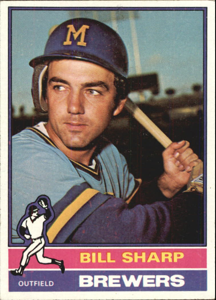 1976 Topps #244 Bill Sharp