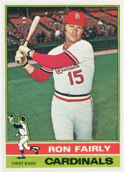 1976 Topps #375 Ron Fairly