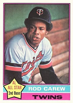 1976 Topps #400 Rod Carew